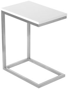 Gus Modern Bi Table White Lacquer Mirroring The Great Modernists Of Yesterday Living Room