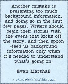Quotable - Evan Marshall