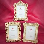 Baroque design frames 4 x 6 - You could put engagement photo's in these and put one or two on the table number table, one on the cake table and one on the gift table!!