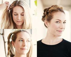 4 Gorgeous Ways to Style Your Hair When You Don't Want to Wash It