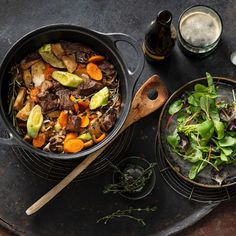 Irish Stew, Guinness, Pappardelle Pasta, Tasty Dishes, Slow Cooker, Curry, Good Food, Snacks, Ethnic Recipes