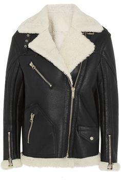 GOLDEN GOOSE DELUXE BRAND Fay oversized shearling coat