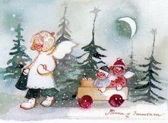 Illustrator Minna Immonen (FI-965956 maneij)