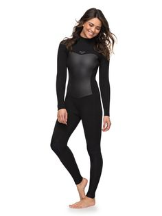 New Roxy Womens Syncro Series Back Zip GBS Wetsuit online. F'n LITE neoprene Thermal Smoothie on chest and back panels W Roxy, Diving Suit, Scuba Diving, Womens Wetsuit, Elegantes Outfit, Surf Girls, Plein Air, Blue Ribbon, Swimsuits