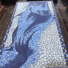 Passy - Mosaic horse