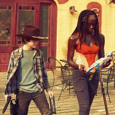"MICHONNE:  ""IT'S JUST TOO DAMN BEAUTIFUL."""
