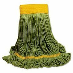 UNISAN EcoMop Looped-End Mop Head, Recycled Fibers, Large Size, Green (1200L) by Unisan. Save 5 Off!. $12.15. Four-ply mop head with engineered fibers made entirely from recycled material. Absorbs more than four times its weight in water.Looped ends reduce unraveling, fraying and lint.