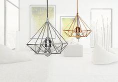 Handgemachte Himmeli Light Cage Lampe Modern Metal von ElevenCoins