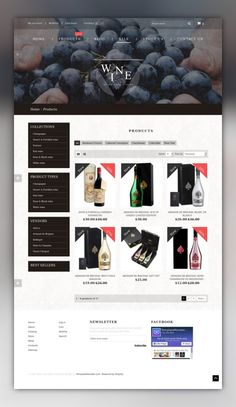 Wine - Wine Shop Responsive Shopify Theme E-commerce Templates, Shopify Themes, Food & Restaurant, Drink, Wine Templates