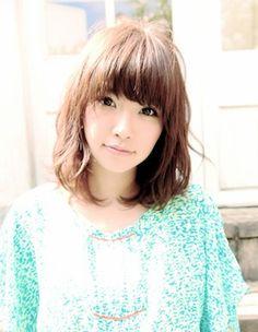Medium hairstyle