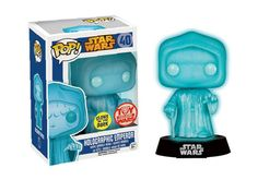 Buy Star Wars Emperor Glow-In-The-Dark Holographic Funko Pop! Vinyl Bobblehead from Pop In A Box UK, the home of Funko Pop Vinyl subscriptions and more. Star Wars Figurines, Star Wars Toys, Funko Figures, Vinyl Figures, Action Figures, Starwars, All Pop, Pop Figurine, Funko Toys