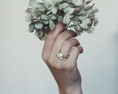 Lily of the valley flowers ring in sterling silver  by TheManerovs, €60.00