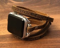 Leather Apple Watch Band Leather Apple Band Womens Apple Watch Bracelet Leather iWatch Band Leather Womens Apple Band Custom Apple Watch (scheduled via http://www.tailwindapp.com?utm_source=pinterest&utm_medium=twpin)