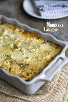 Moussaka, Gluten Free Pasta, Meatloaf, Cheeseburger Chowder, Macaroni And Cheese, Casserole, Catering, Soup, Vegan