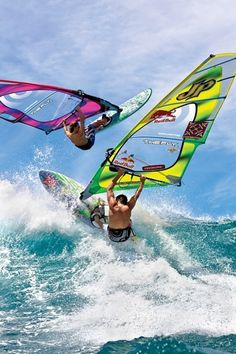 Feel the #rush while #Wind #Surfing