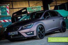 ::: foliert.de ::: custom cars made in casselfornia | Seat Leon FR (5F)