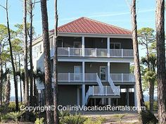 Papa's Place ~ East End ~ Bay Front ~ St. George Island Florida - Collins Vacation Rentals
