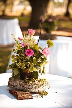 Another Rustic centerpiece option