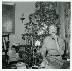 Tinsel! Vintage Christmas.