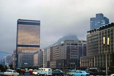 Old Pictures, Old Photos, Gloomy Day, Cape Town, Old Houses, San Francisco Skyline, South Africa, Skyscraper, Scenery