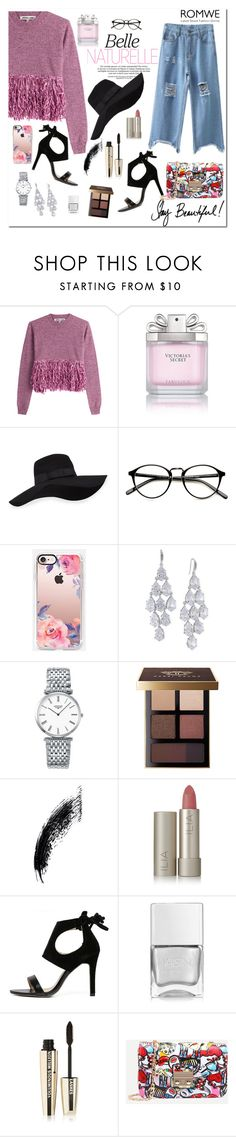 """Romwe 4/1"" by dinna-mehic ❤ liked on Polyvore featuring McQ by Alexander McQueen, Victoria's Secret, San Diego Hat Co., Casetify, Carolee, Longines, Bobbi Brown Cosmetics, Ilia, Nails Inc. and L'Oréal Paris"