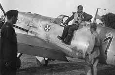 Bf109 E4. Herbert Kijewski