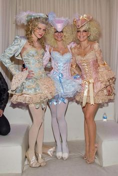 marie antoinette costumes...halloween! those eyelashes have got to go though..lol