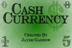 Cash Currency Font | dafont.com