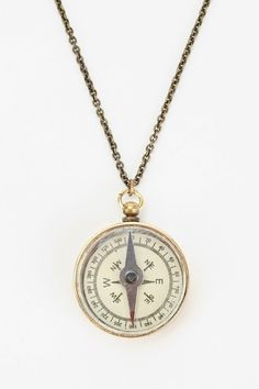 Compass Necklace - Urban Outfitters