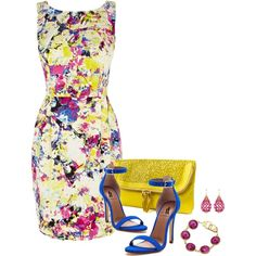"""House of Fraser dress 3"" by ivanyi-krisztina on Polyvore"