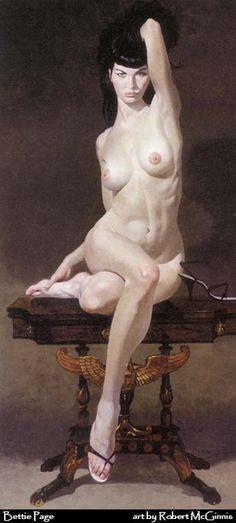 tits-em-arte: Robert McGinnis - Bettie Page Robert Mcginnis, Figure Painting, Figure Drawing, Painting & Drawing, Pinup, Bettie Page, Pulp Art, Pin Up Art, Life Drawing