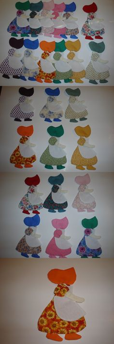 Appliques 146318: Sunbonnet Sue W Apron Quilt Appliques -Set Of 12- Press And Sew -Style14 Item 14 -> BUY IT NOW ONLY: $34.98 on eBay!