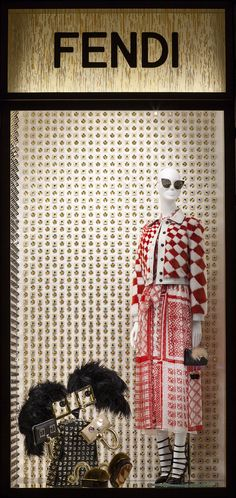 """FENDI, Milan/London, """"The boutiques are getting in the holiday spirit with the new Fendi Hypnoteyes"""", pinned by Ton van der Veer"""