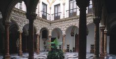 Patio del Palacio del Marqués de Domecq en Jerez de la Frontera