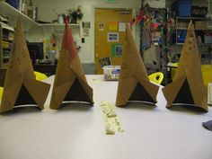 Thanksgiving Decorations - TeePees