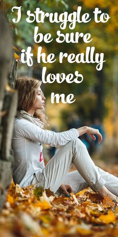 Love Quotes : QUOTATION – Image : Quotes Of the day – Description I … Love quotes: QUOTE – Image: Quotes of the day – Description I'm not sure if he really loves me. Sharing is power. Do not forget to share this quote! Inspirational Quotes About Love, Best Love Quotes, Love Quotes For Him, Quote Of The Day, Me Quotes, Healthy Relationship Tips, Funny Relationship, Funny Marriage Advice, Dating Advice