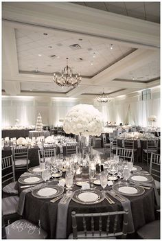 I love this! Maybe white tablecloths though? Hmm
