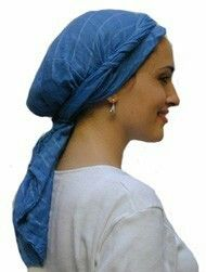 How to tie head scarves for Via Dolorosa