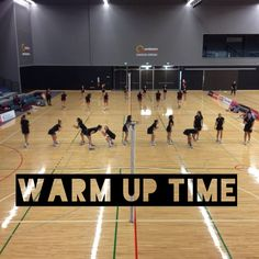 Warm up time Secondary Schools, Netball, New Zealand, Competition, Basketball Court, Warm, Basketball