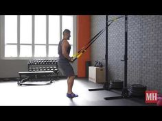 What better way to start your week than by blasting your core with this from TRX Master Instructor Renae McCloud ( Switch up t. Suspension Workout, Suspension Training, Trx Band, Workout Plan For Men, Workout Plans, Total Body Toning, Ultimate Workout, Weight Lifting Workouts, Muscle Up