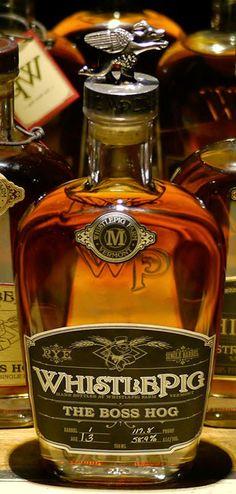 The WhistlePig Boss Hog Rye Whiskey, 2014 Edition: The Spirit of Mortimer