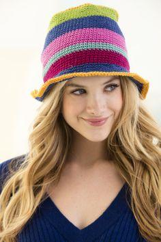 Crochet Bathgate Hat. ☀CQ #crochet #apparel