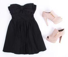 Little Black Dress #ootd Deb Shops