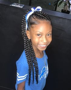 Think Your Hair Can't Be Tamed? Think Again! Lil Girl Hairstyles, Black Kids Hairstyles, Natural Hairstyles For Kids, Kids Braided Hairstyles, Natural Hair Styles, Trending Hairstyles, Princess Hairstyles, Fancy Hairstyles, Cornrows For Little Girls