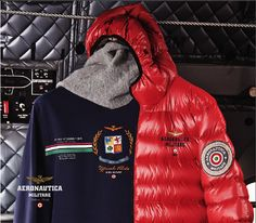 Piumino AB1125, t-shirt TS967.