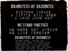 Halestorm-  Daughters of Darkness <3