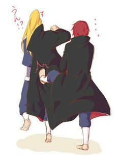 Image about naruto in ☁ Akatsuki ☁ by chanyolover Naruto Akatsuki Funny, Naruto And Sasuke, Itachi, Naruto Uzumaki, Boruto, Naruto Family, Naruto Couples, Anime Couples, Sasori And Deidara
