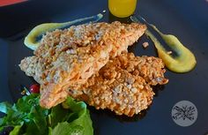 salmon with salad Main Dishes, Salmon, Fish, Meat, Chicken, Dinner, Main Course Dishes, Dining, Entrees
