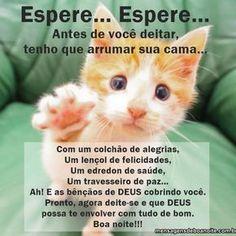 Antes de você deitar - http://www.mensagensdeboanoite.com.br/