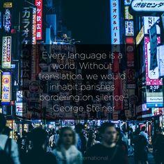 Medical, IT and technical translation services into languages. Language, World, Languages, The World, Language Arts